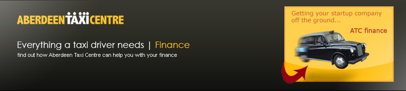 Aberdeen Taxi Center Finance Services - Everything a Taxi Driver Needs